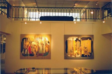 Galerie Duchoze, Art Contemporain, Rouen, 2002. (1)