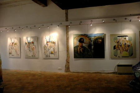 Vernissage Lacapelle Marival , juin 2010. (2)