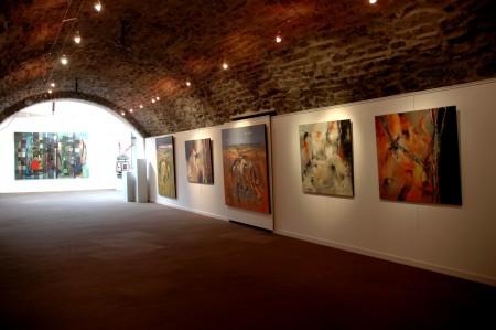 Vernissage exposition PM Corbel La galerie d'art Laguiole juin (2)