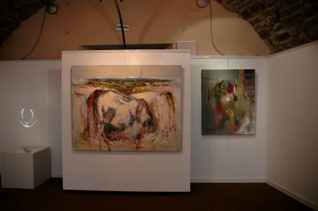 Vernissage exposition PM Corbel La galerie d'art Laguiole juin (4)