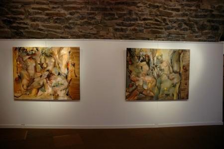 Vernissage exposition PM Corbel La galerie d'art Laguiole juin (5)